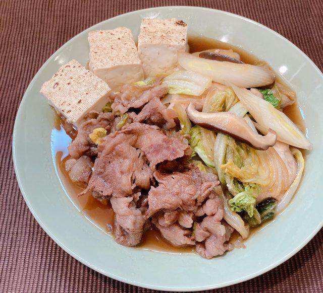 「肉豆腐」の材料