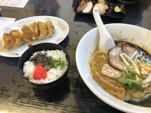「濃厚鶏白湯らぁめん」専用の明太子ご飯