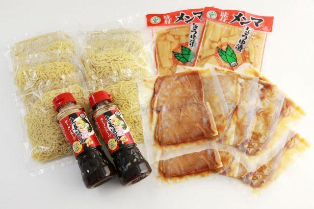 生姜醤油ラーメンセット