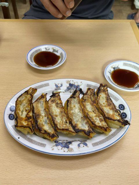 安福亭の餃子