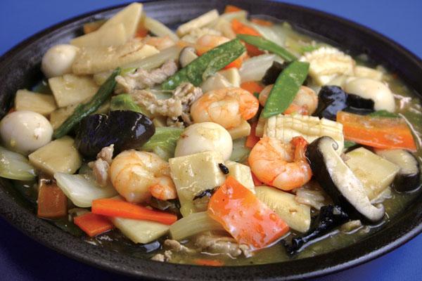 中華料理の定番 八宝菜