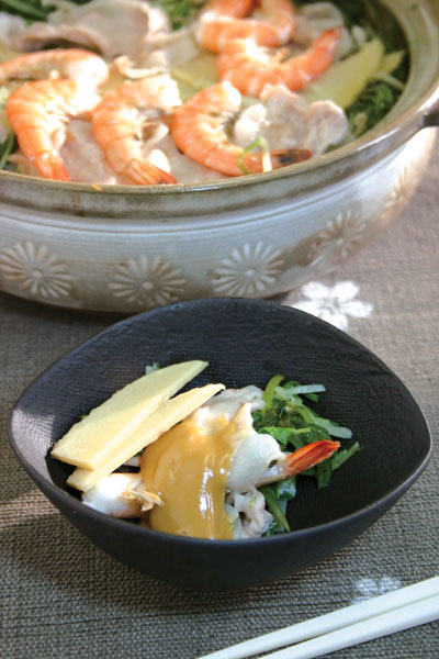 春野菜のたっぷり蒸し鍋