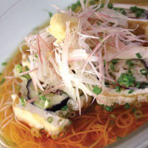 梅シソ&茄子のサッパリ素麺