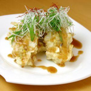 鶏レンコン飯バーグ